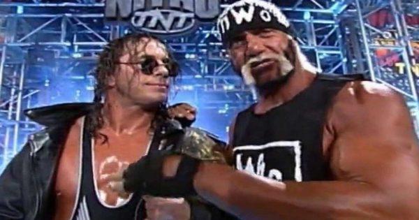 Bret Hart and Hulk Hogan In WCW