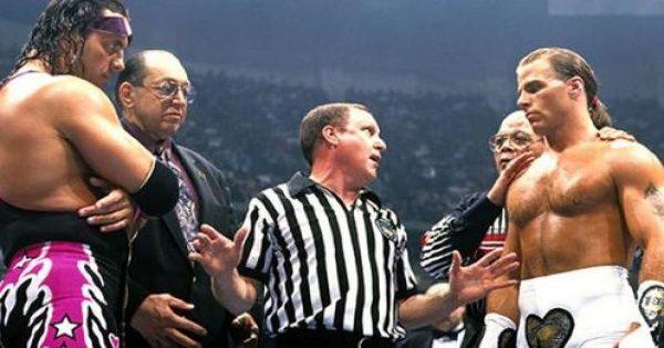 Bret Hart and Shawn Michaels - Montreal Screwjob