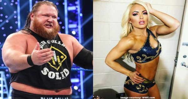 Mandy Rose and Otis having a wrestlemania match?