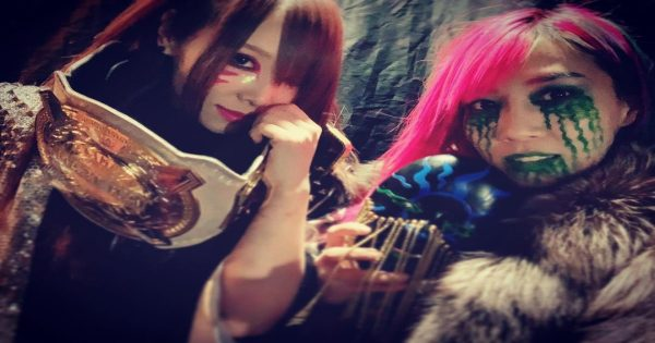 The Kabuki Warriors may not defend their wwe women's tag team titles