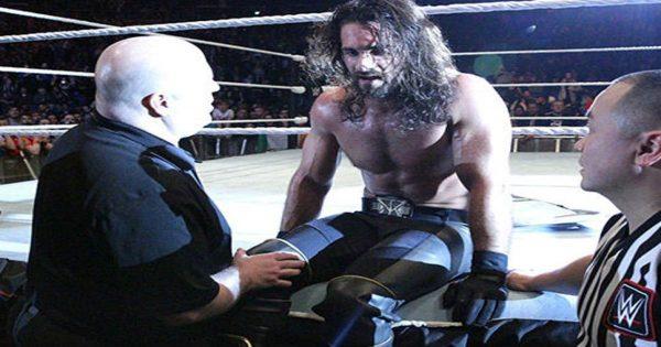Seth Rollins Suffers Knee Injury In Ireland