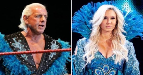 Charlotte Flair had to step out of Ric Flair's shadow