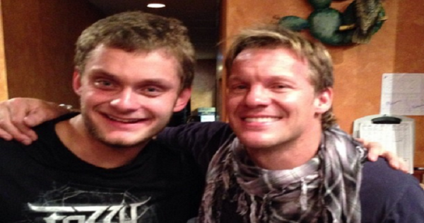 Chris Jericho and David Benoit