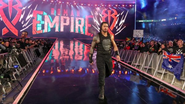 Roman Reigns has pulled out of WWE WrestleMania