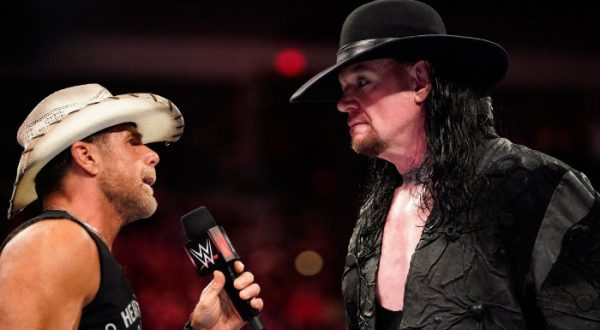 The Undertaker Shawn Michaels