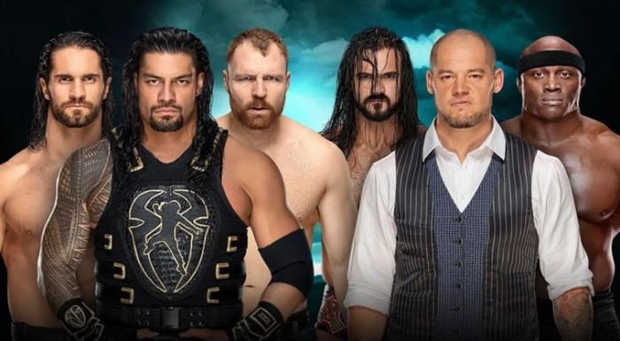 The Shield Drew McIntyre Baron Corbin Bobby Lashley