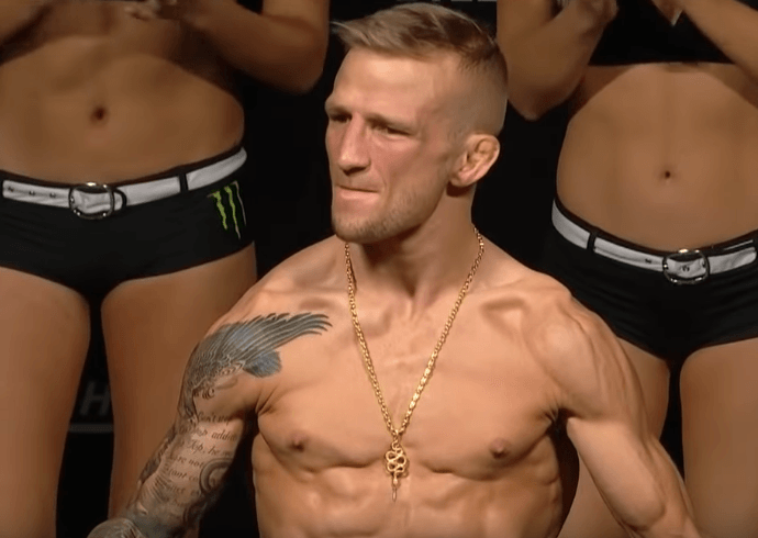 "Michael Bisping Thinks T.J. Dillashaw Vacating The Title is ""Almost"" Like Pleading Guilty…."