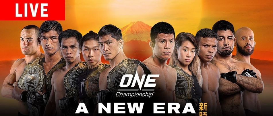 Official Press Conference For ONE: A New Era Live On FightLine