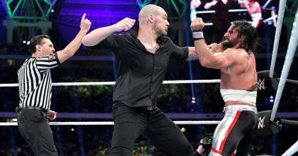 Baron Corbin Seth Rollins WWE ratings