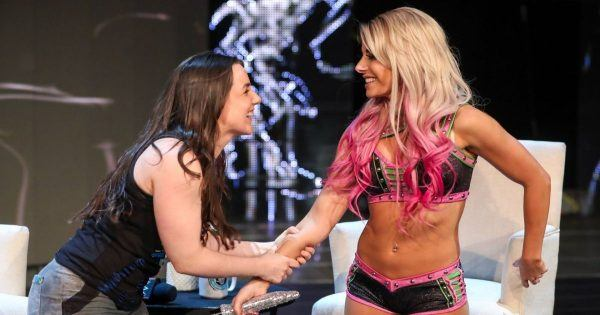Alexa Bliss and Nikki Cross