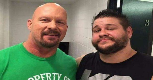 Stone Cold Steve Austin and Kevin Owens