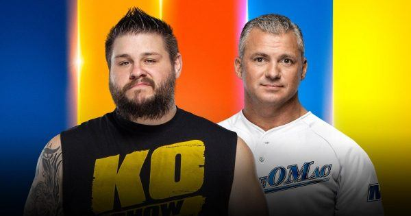 Kevin Owens and Shane McMahon