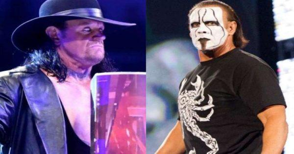 Sting and the Undertaker