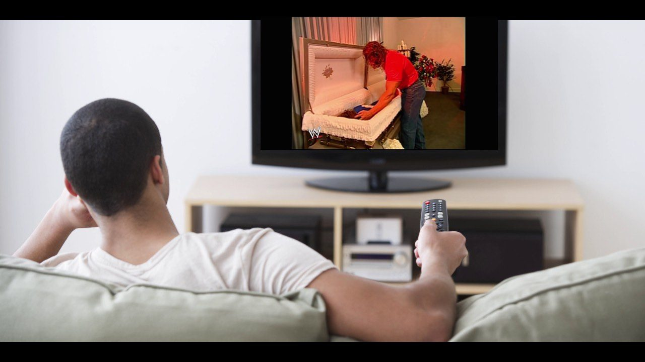 watching wwe raw