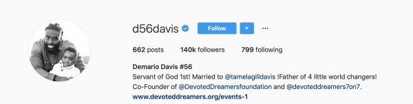 Demario Davis Christian NFL