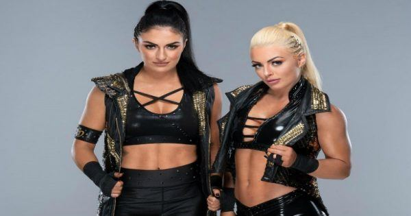 Sonya Deville and Mandy Rose