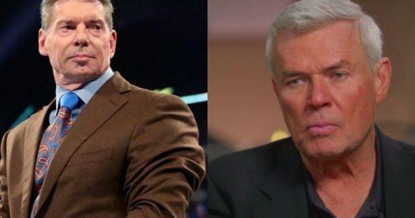Vince McMahon and Eric Bischoff