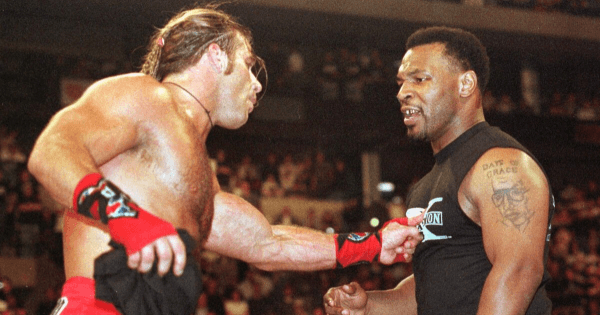 Mike Tyson and Shawn Michaels in the Attitude Era
