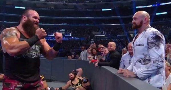 WWE Braun Strowman tyson Fury