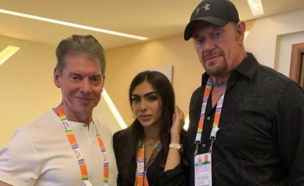 Vince McMahon The Undertaker Saudi Arabia