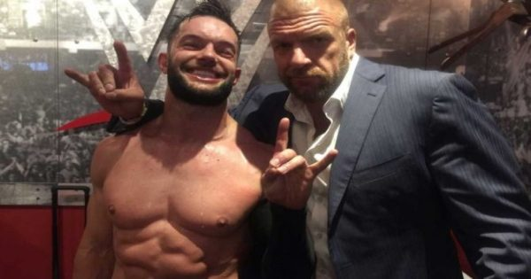 Triple H and Finn Balor in the WWE