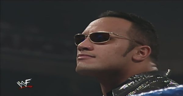 NXT could learn from the Rock's sunglasses