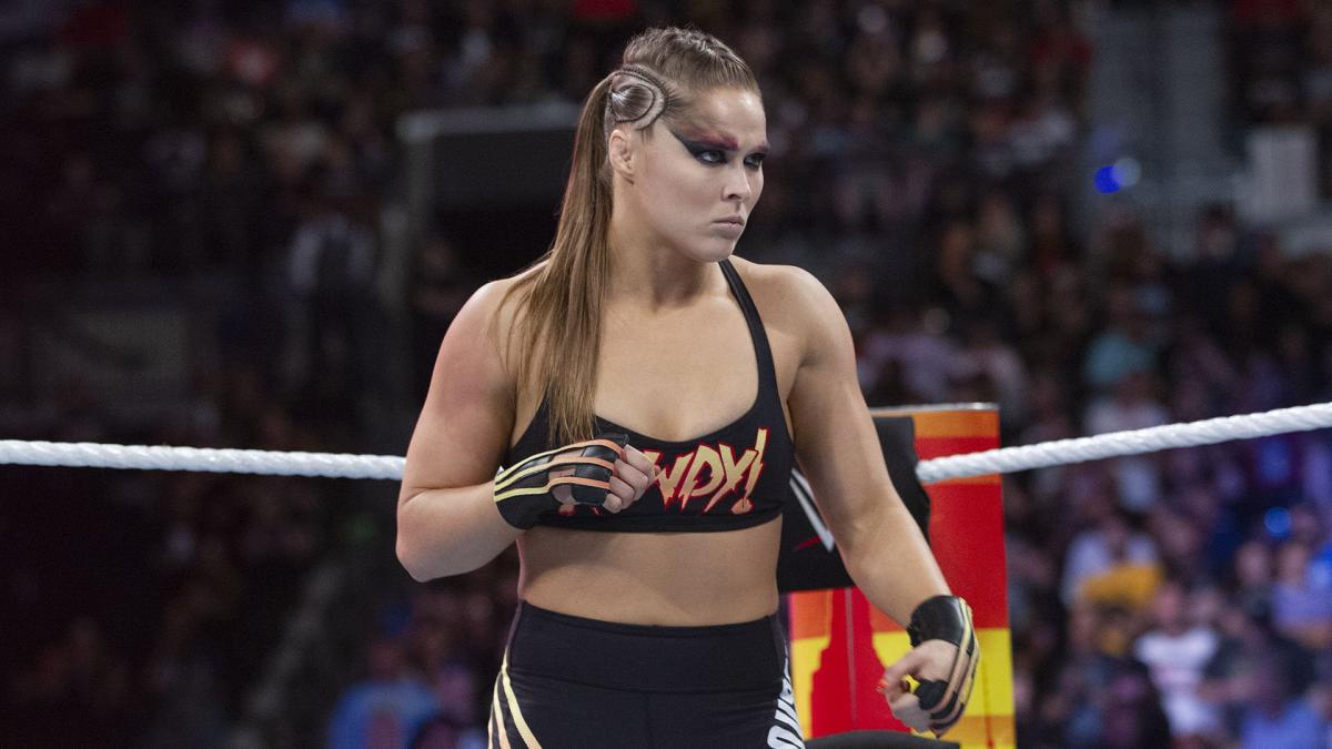 Ronda Rousey Welcomed Back