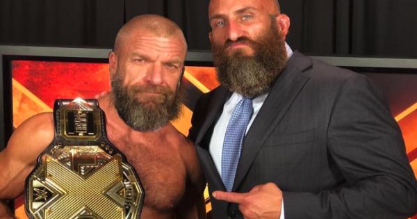 Triple H and Tommaso Ciampa
