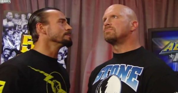 WWE CM Punk and Stone Cold Steve Austin