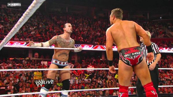 CM Punk The Miz
