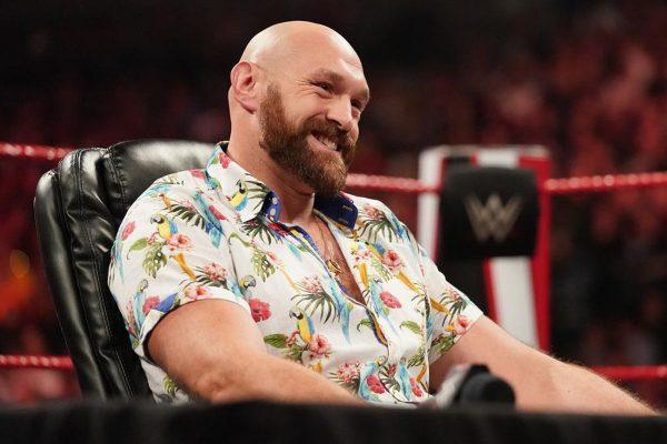 Tyson Fury's WWE Return