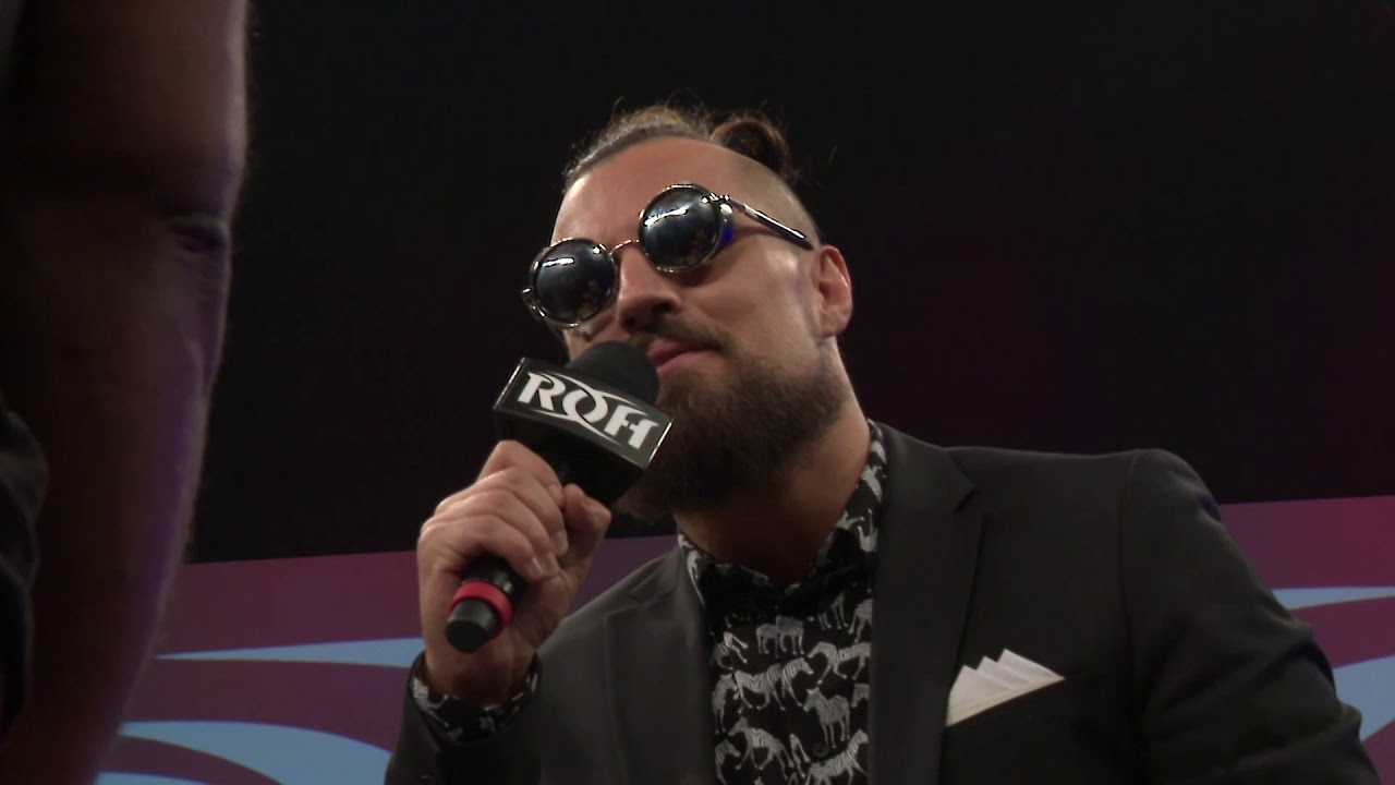 Marty Scurll Close Signing