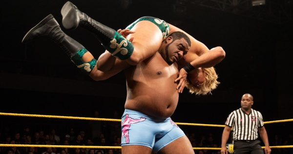 Keith Lee, one of the NXT wrestlers likely to win the WWE Royal Rumble