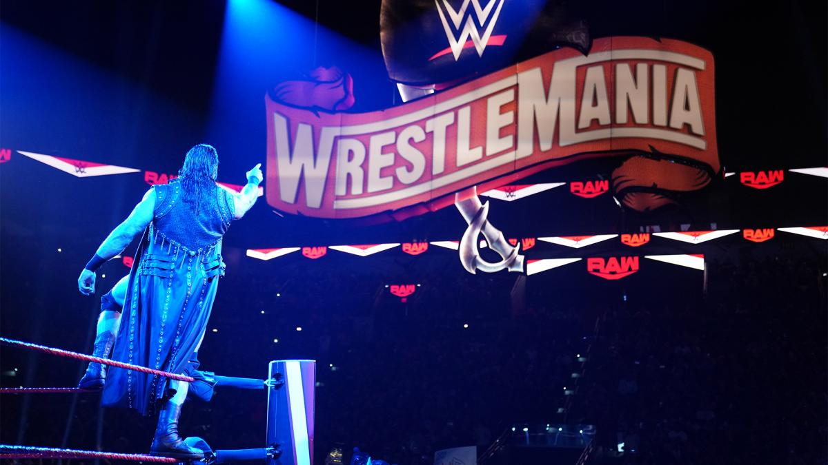 Expected WrestleMania Main Event