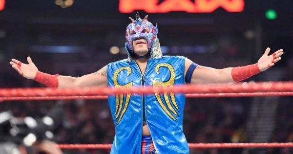 WWE Kalisto suffers shoulder seperation