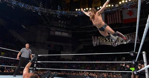 The diving headbutt being phased out in the WWE