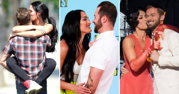 WWE's Nikki Bella and ARtem
