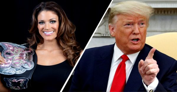 Former WWE Diva Accuses Trump