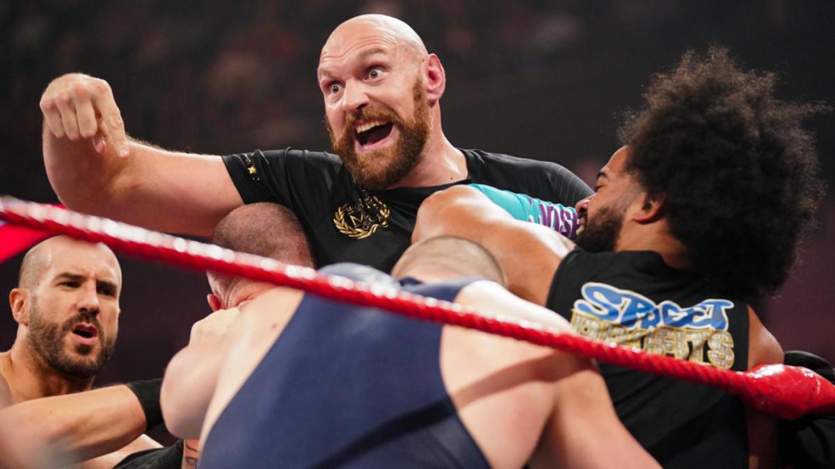 could tyson fury wrestle