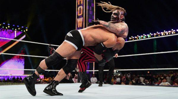 Goldberg Defeats 'The Fiend'