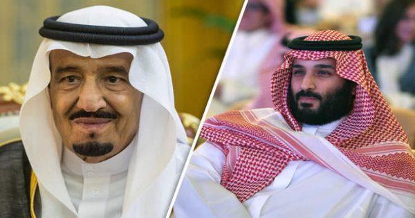 The Saudi King and Prince