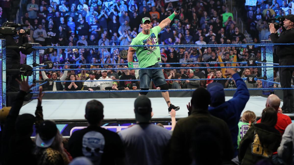WWE Getting Fans Back