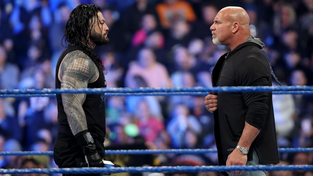 Vince McMahon Roman Reigns