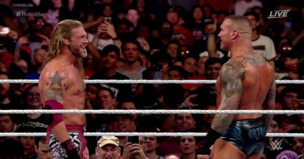 Edge and Randy Orton Wrestlemania 36