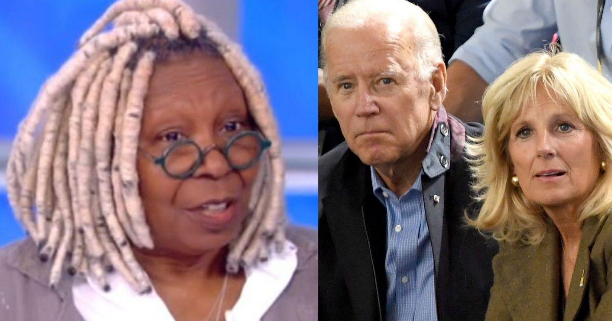 V.P. Biden, Whoopi Goldberg Ride Amtrak Together - NBC10