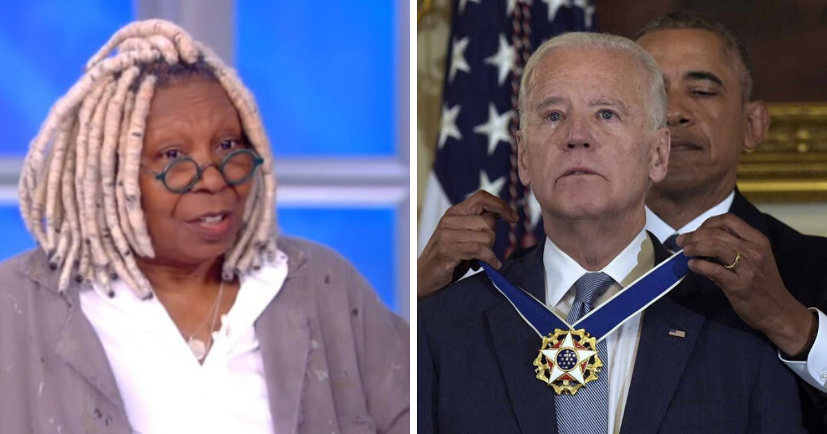 Whoopi Goldberg Ran Into Vice President Joe Biden on a