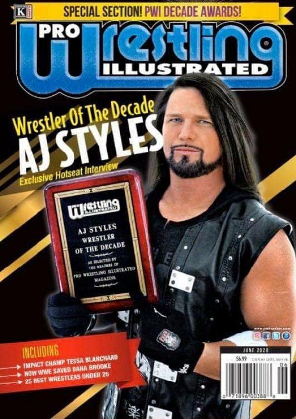 AJ Styles Prestigious Honor
