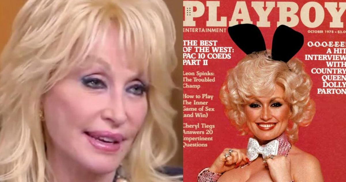 Dolly Parton Discusses Posing For Playboy At Age 75