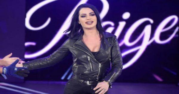 Paige responds to wrestlemania move