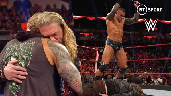 Edge and Randy Orton Match At WrestleMania
